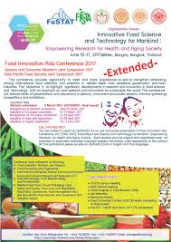 food innovation asia conference  the symposium is one day and consists of lectures from top international leading keynote invited speakers as well as academic presentation session
