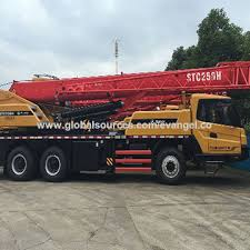 China Truck Crane Sany 25 Ton Hydraulic Mobile Crane