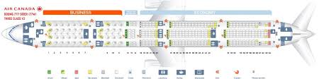 Air Canada Fleet Boeing 777 300er Details And Pictures