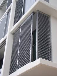 Shutter Enclosures Aluminum Shutter Panels Houston The Shade - Faux window shutters exterior