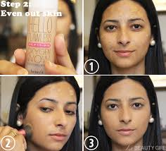 makeup with image with foundation makeup tutorials with foundation on my index finger and spread little