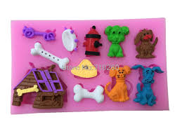 Cake Decorating Animal Figures Online Get Cheap Dog Cakes Aliexpresscom Alibaba Group