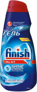 Обзор <b>геля</b> для посудомоечной машины <b>Finish</b> (<b>Финиш</b>)