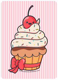 cute cupcake drawing. Exellent Drawing Cute Cupcake By CherryFactorydeviantartcom Drawing  Illustration For Drawing I
