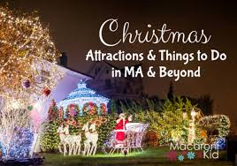 christmas attractions and things to do