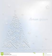 Grey Christmas Tree White Christmas Tree On Grey Background Royalty Free Stock Image
