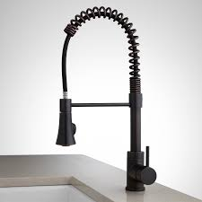Bronze Kitchen Sink Faucets Steyn Kitchen Faucet With Spring Spout Kitchen