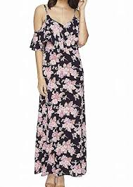 Flynn Skye Size Chart Flynn Skye Womens Dreamy Dress Black Bloss Dress At Amazon
