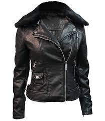 top women s textured vegan leather motorcycle jacket