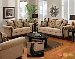 Living Room Furniture Set Delray Traditional Sofa Amp Love Seat Living Room Furniture Set