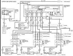 f wiring diagram power windows a supercrew x modules graphic