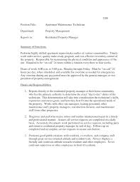 Transform Maintenance Technician Resume Skills For Your 100