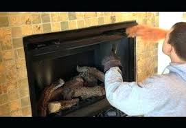 wood burning fireplace to gas sve install gas starter wood burning fireplace