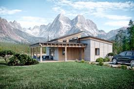 truoba mini 419 mountain cabin house