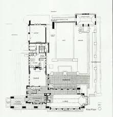 Frank Lloyd Wright Floor Plan