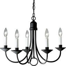 progress lighting p4008 31 primitive black iron chandelier