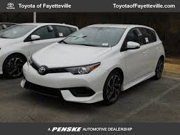 2018 New Toyota Corolla iM CVT at Toyota of Fayetteville Serving ...