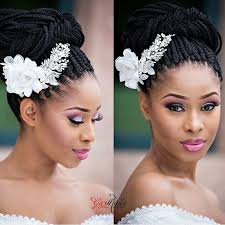 10 Coiffures De Mariée Pour Femmes Noires Afroculturenet