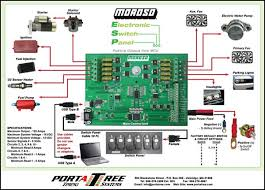 quick switch drag race timing equipment drag racing equipment main control unit positive outputs diagram