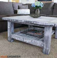 coffee table building plans square plank coffee table plans rogue engineer rustic coffee table woodworking plans