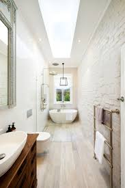 Best Small Narrow Bathroom Ideas On Pinterest Narrow