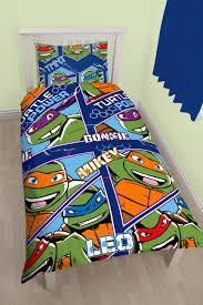 teenage mutant ninja turtles dimension single duvet set