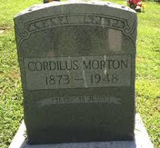 Cordillas Morton (1873-1948) - Find A Grave Memorial