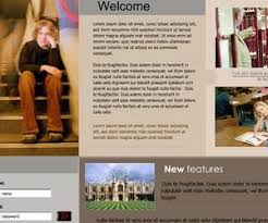 Free Flash Web Template Free Flash Template Com Free Flash Templates And Intros