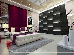 Black & White Bedroom Design