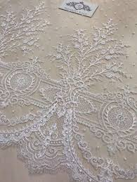 <b>1 Yard Exquisite</b> Gold Embroidery Tulle Lace Fabric with Clear ...