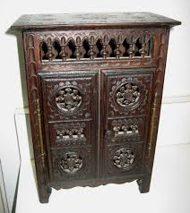 antique furniture armoire. french breton brittany antique small doll furniture armoire