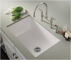 white undermount kitchen sinks.  Kitchen Undermount Fireclay Kitchen Sink White Sinks Throughout  Prepare Intended 7