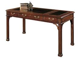 henkle harris x rectangular secretary desk with leather top henkel dresser