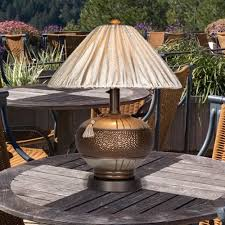 find the perfect outdoor table lamp and patio table lamps by shady lady at patiopers com