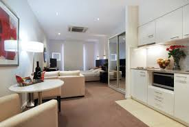 Small Open Concept Kitchen Living Collection Also Apartment - Rental apartment one bedroom apartment open floor plans