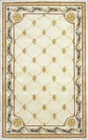 fleur de lis rugs the jewel antique ivory round area rugs available at furniture mattress serving
