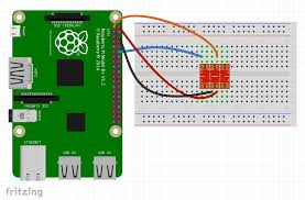 internet of stranger things â—† 24 ways diagram of connecting the second set of wires between the raspberry pi and breadboard