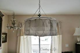 diy junk style chandelier farmhouse pendant lighting creating life rustic light shades industrial flush mount silver ceiling bowl contemporary art