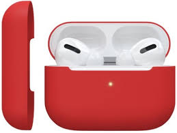 <b>Чехол Red Line</b> для AirPods Pro, красный (УТ000019187) - купить ...