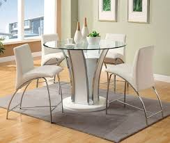 48 glenview ii counter height table counter height glass dining table home wallpaper