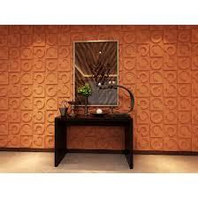 Fiber Sheet Design For Wall 3d Wall Panels Plant Fiber Horseshoe Design 10 Panels Per