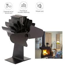 Details Zu 15 18db Thermischer Energie Holzofen Ventilator Mit Warmem Luft Klotz Holz Kamin