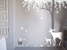 magical forest wall sticker