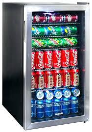 cooler with glass door upright