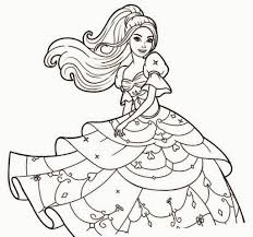 Coloring Pages Barbie Coloring Page Barbie Coloring Pages To Print