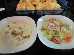 heat through and serve soup salad and breadsticks just like at olive garden