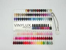 Cnd Colour Chart Cnd Vinylux Painted Color Chart Nail Palette 114 Colour