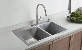 Kitchen  Beautiful Custom Kitchen Sink Stainless Steel Counter Home Depot Stainless Steel Kitchen Sinks