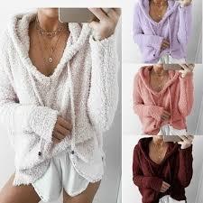 Shop <b>Autumn Winter Women</b> Fashion Hoodie Sweater <b>Loose</b> Long ...