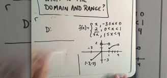 how to figure out the domain range of a piecewise function math wonderhowto
